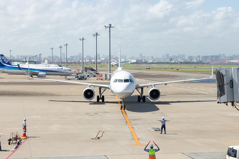 大分市からのツアー参加者を乗せたANA796便