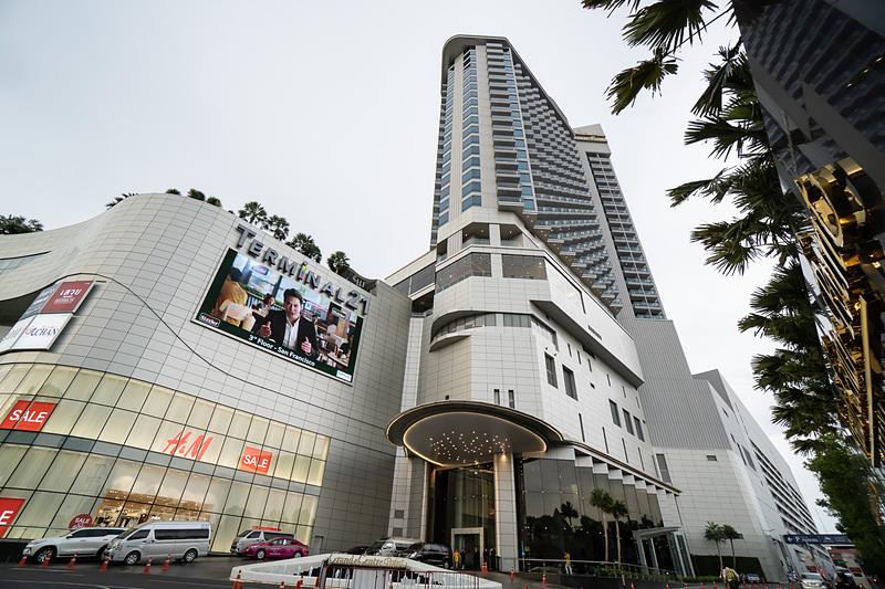 ターミナル21に併設されているホテルのグランデ・センター・ポイント・パタヤ