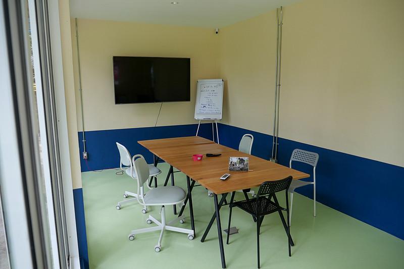 会議室もあり、こちらも電話会議などで利用できる