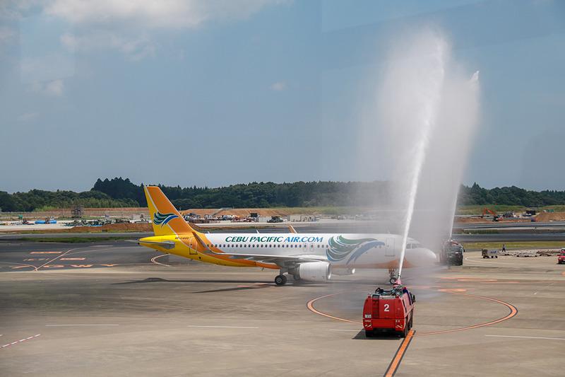セブ・パシフィック航空は、成田国際空港~フィリピン・クラーク国際空港(ルソン島)線を就航した