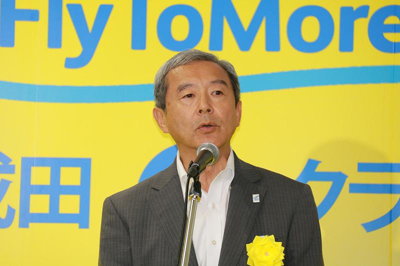 成田国際空港株式会社 代表取締役社長 田村明比古氏