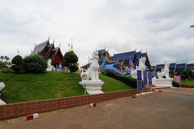 新たな観光地として近年注目を集めつつあるチェンマイ北部の寺院「ワット・バンデン」
