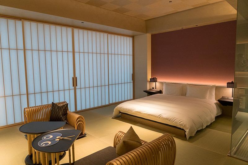 1フロアに4室ある「桜」の客室。広さは約50m<sup>2</sup>