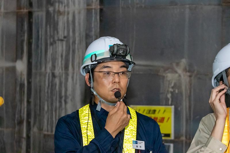 東京地下鉄株式会社 改良建設部第四建築工事所 技術課長 藤野覚氏