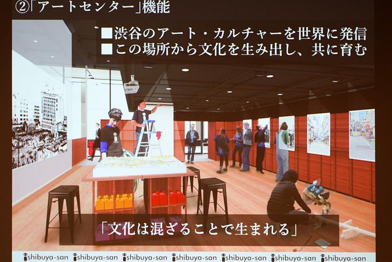 渋谷のアートを世界に発信する