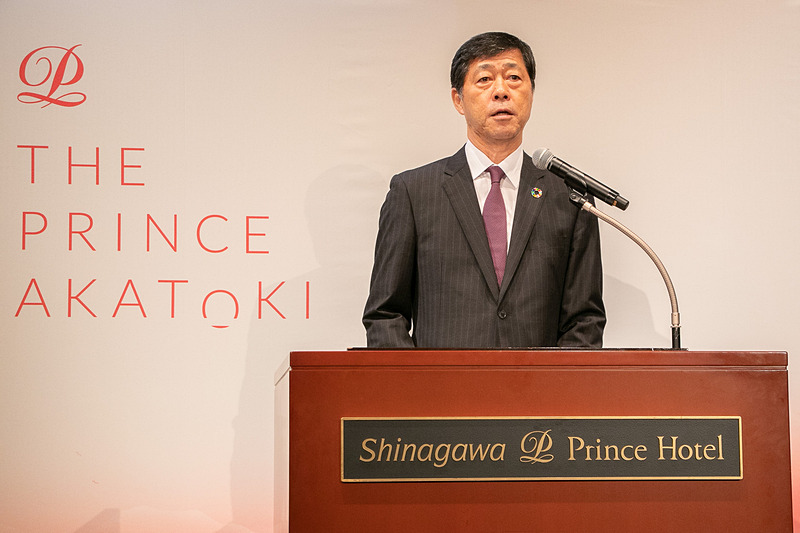 「The Prince Akatoki London(ザ・プリンス アカトキ ロンドン)」をはじめとしたプリンスホテルの取り組みについて語る、株式会社プリンスホテル 代表取締役社長 小山正彦氏