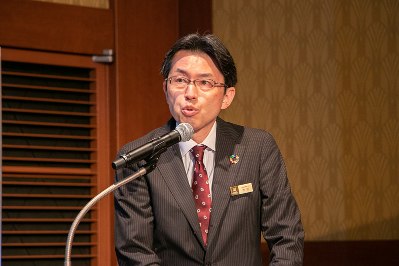 株式会社プリンスホテル 執行役員 海外事業部長 赤松衛一氏