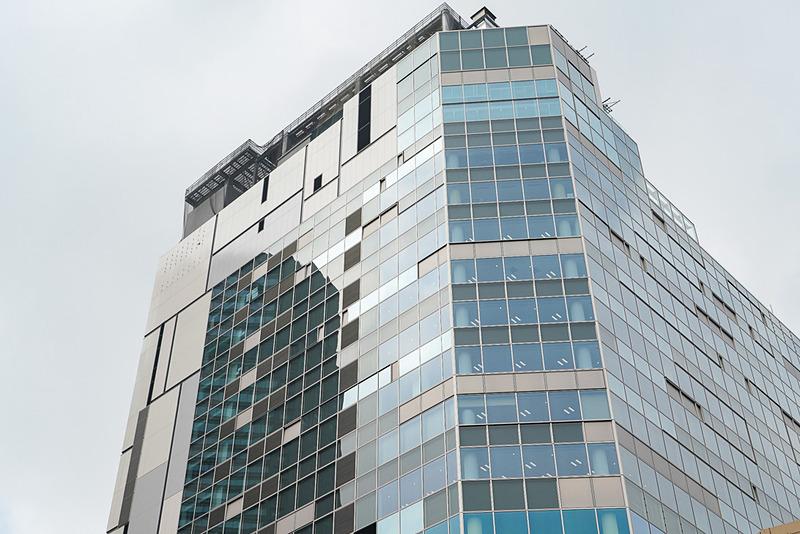 屋上階の17階と18階。ルーフトップガーデンが作られる