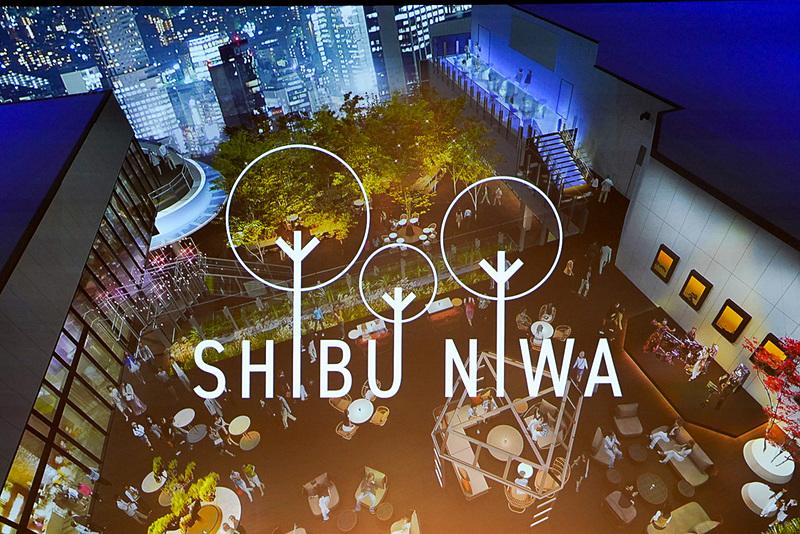 渋谷の景色を一望できる