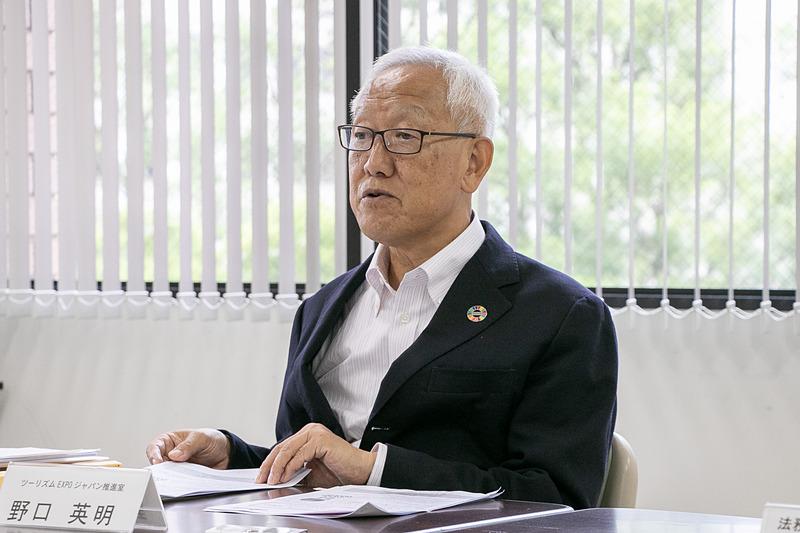 ツーリズムEXPOジャパン推進室/ジャパン・ツーリズム・アワード事務局 ディレクター 野口英明氏