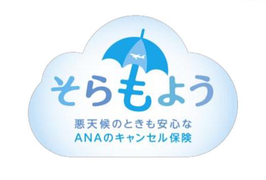 ANAはキャンセル保険「そらもよう」を発売する