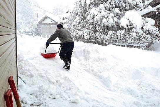 除雪作業のイメージ
