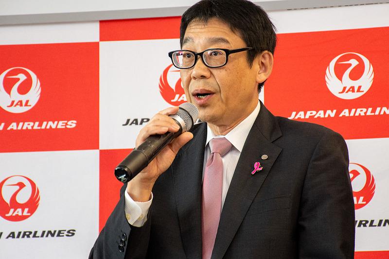 日本航空株式会社 取締役専務執行役員 路線統括本部長 豊島滝三氏
