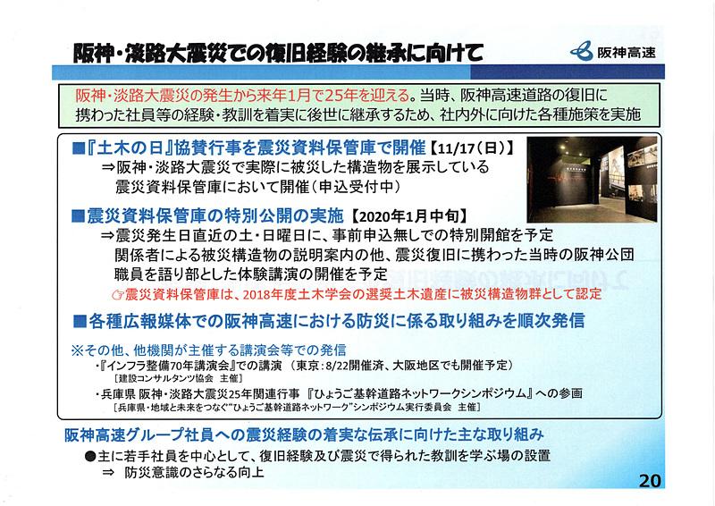 阪神・淡路大震災での復旧経験の継承に向けた取り組み