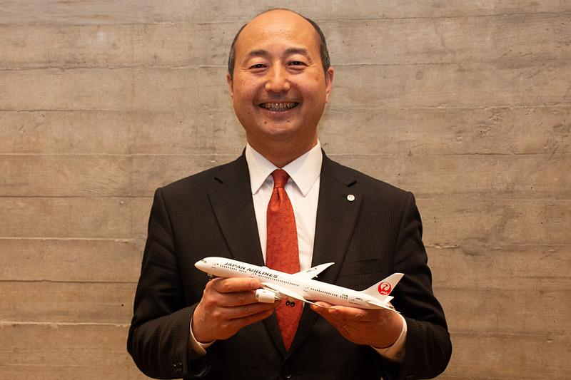 日本航空株式会社 オーストラリア・ニュージーランド支店長 宝本聖司氏