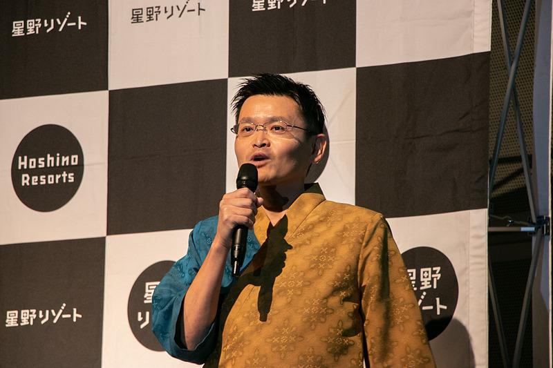 「星のや沖縄」を紹介する 総支配人の澤田裕一(ひろかず)氏