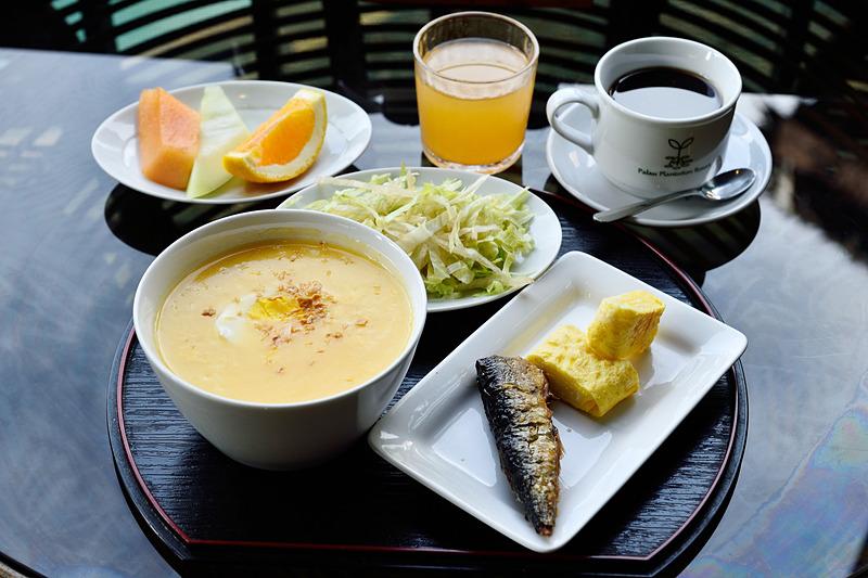 フォレストガーデンの朝食