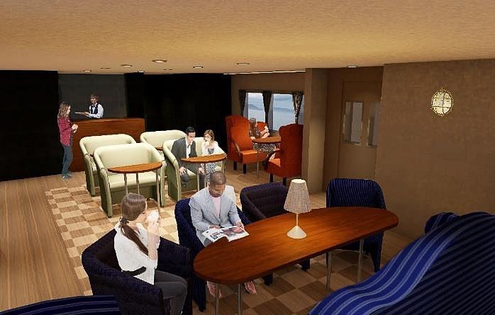 船内イメージ(1階客室)