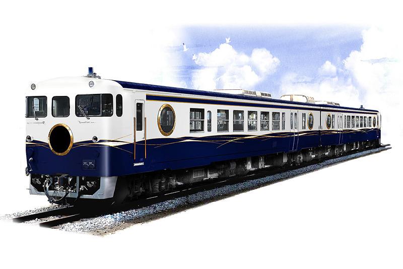 JR西日本が2020年秋ごろから導入予定の観光列車名を「etSETOra(エトセトラ)」に決定した(画像提供:JR西日本)