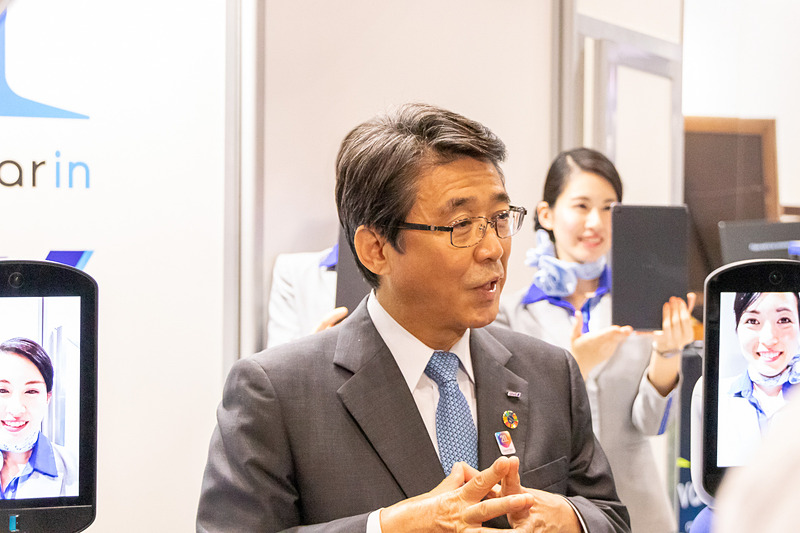ANAホールディングス株式会社 代表取締役社長 片野坂真哉氏
