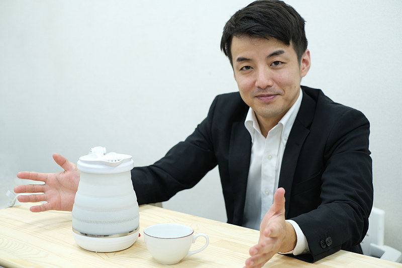 株式会社ミヨシ 営業部営業課の榊氏