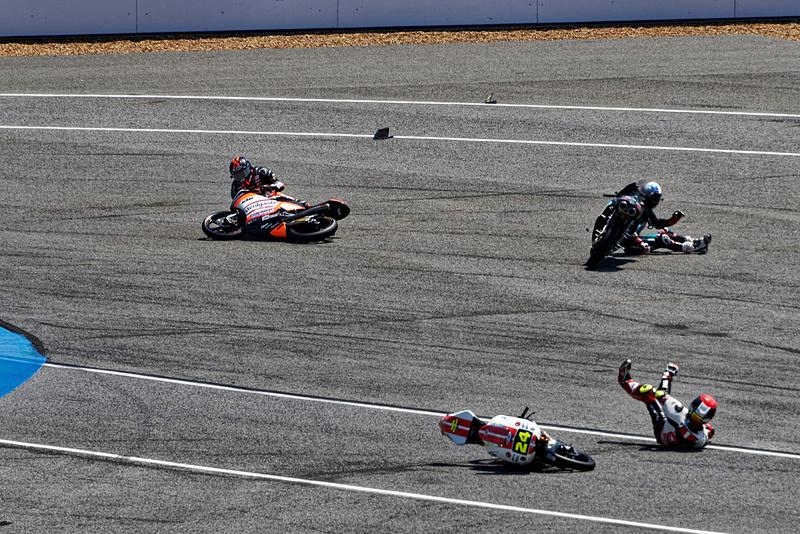 しかしタイグランプリでは転倒し、残念ながらリタイアしてしまった