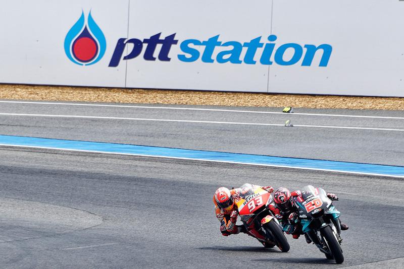 MotoGP参戦初年度ながらマルケス選手と互角の戦いを見せた、ゼッケン20のファビオ・クアルタラロ選手。2020年は要注目のライダーだ