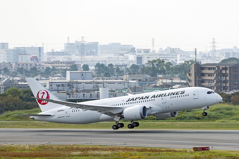 羽田空港に向けテイクオフ