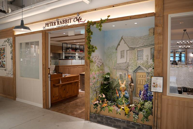 自由が丘に続いて国内2店舗目となる「ピーターラビットカフェ」
