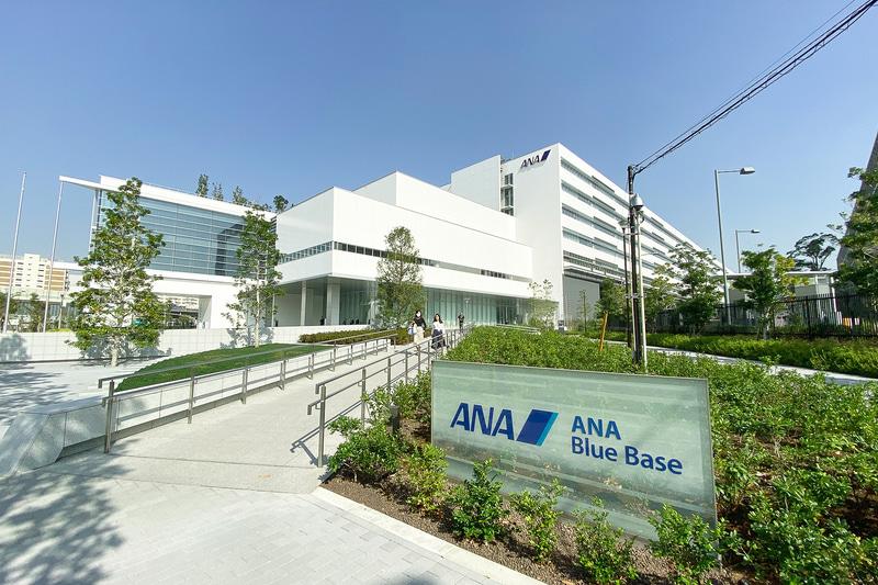 2019年から稼働開始した東京大田区にある総合訓練施設「ANA Blue Base」が会場となった