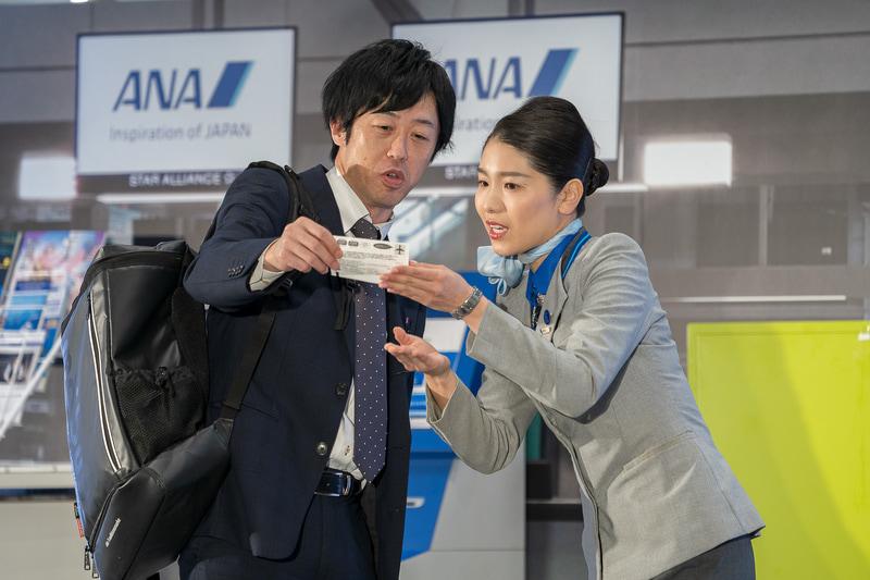 福岡空港の松隈優恵さん。大慌てで来た男性客の搭乗券を見て開口一番、「○○さま、ご安心ください」と返した対応が素晴らしかった
