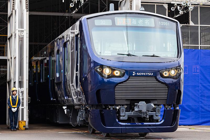相鉄・JR相互直通運行で利用される12000系