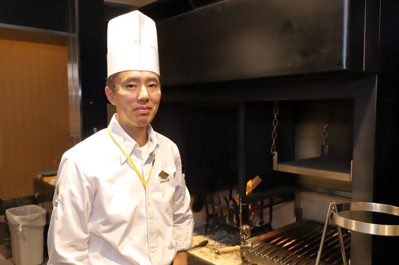 ホテル阪急レスパイア大阪 営業部 統括シェフ 渡邊直樹氏