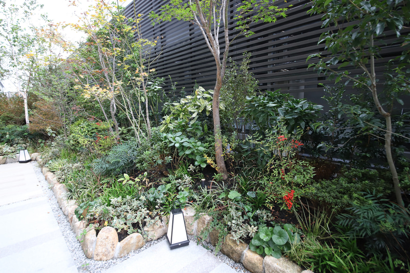 インバウンドの宿泊客にとっては、日本の植生を身近に感じる機会となるはずだ