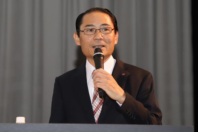 ホテルの設備について紹介する、ホテル阪急レスパイア大阪 総支配人 小川清尚氏