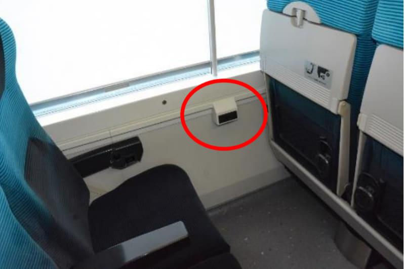 座席コンセントイメージ