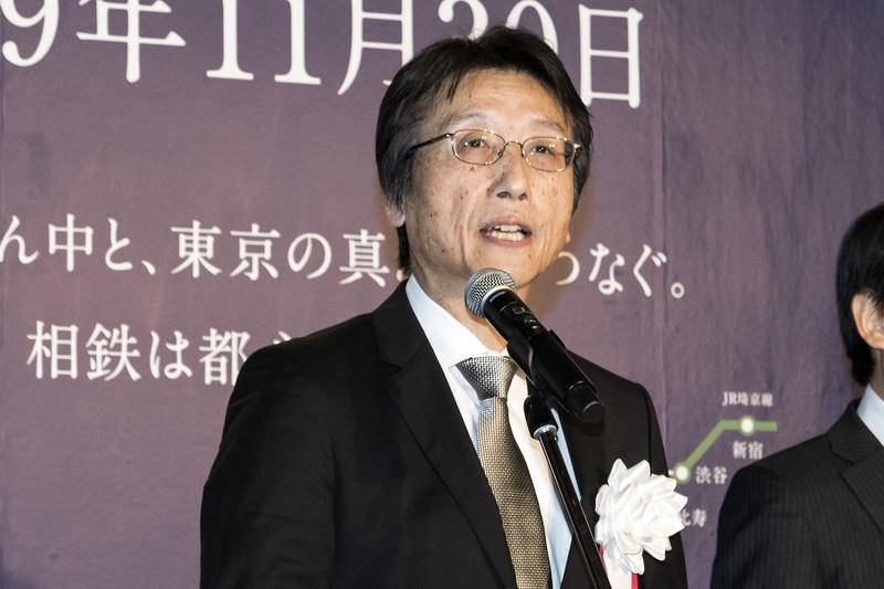 相模鉄道株式会社 代表取締役社長 千原広司氏