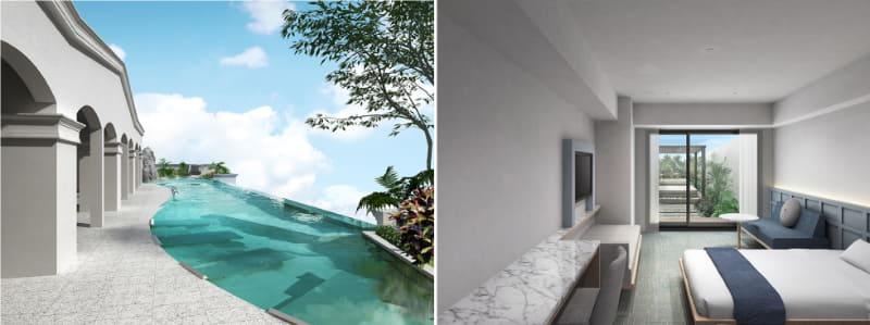 ベッセルホテルズは初のリゾートホテル「Lequ Okinawa Spa&Resort」を開業する