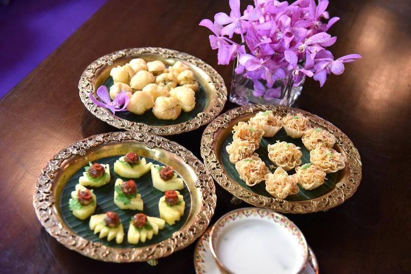 伝統料理が味わえる「タイ・アフタヌーンティー・セット」