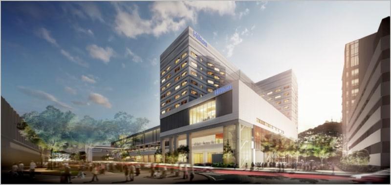 2021年11月開業予定の「ヒルトン長崎」が着工した