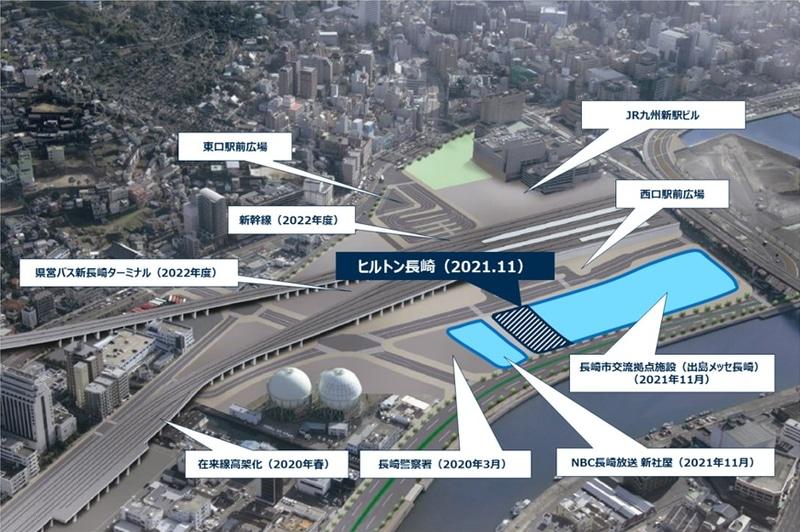 長崎駅周辺開発イメージ