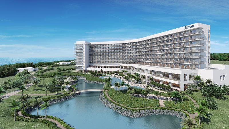 2020年7月1日に「ヒルトン沖縄瀬底リゾート」を開業する