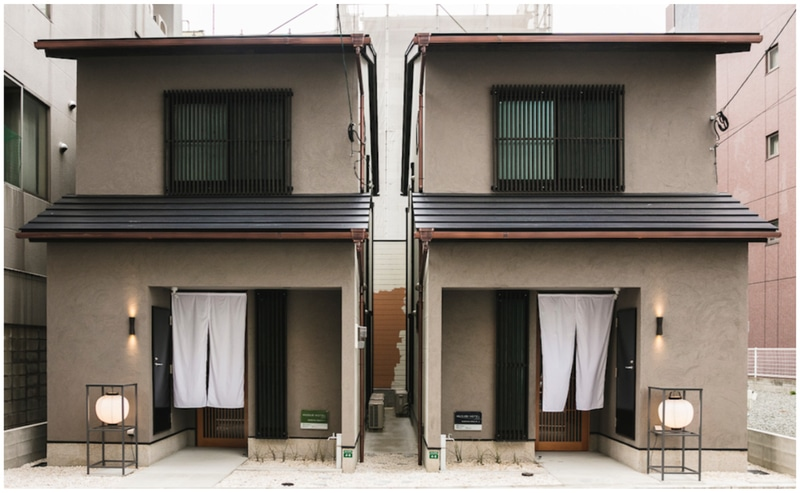 TABICTは博多に町屋タイプのホテル「MUSUBI HOTEL NARAYA MACHI 1, 2」を開業した