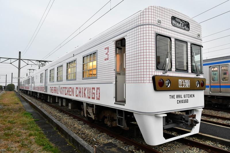 西鉄が運行する「THE RAIL KITCHEN CHIKUGO」