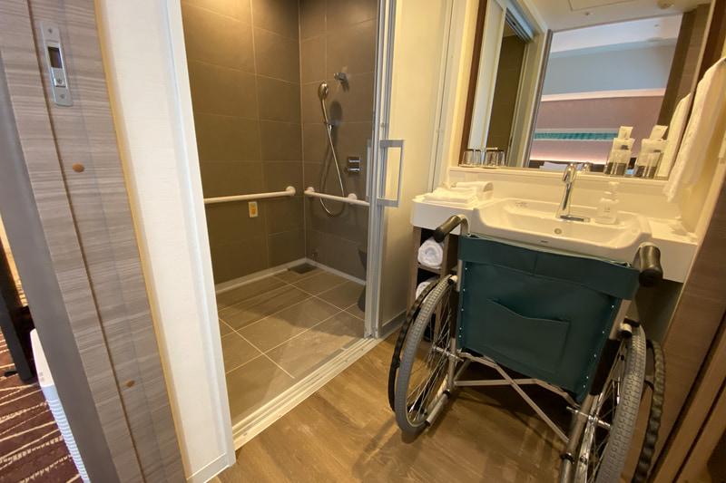 車椅子利用を前提に細かな仕様が異なる