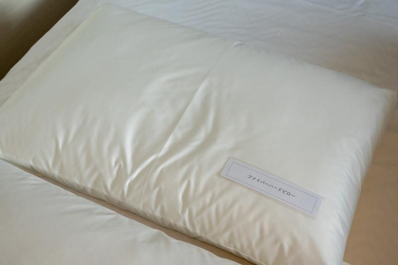 貸し出し枕の種類が豊富なのも特徴