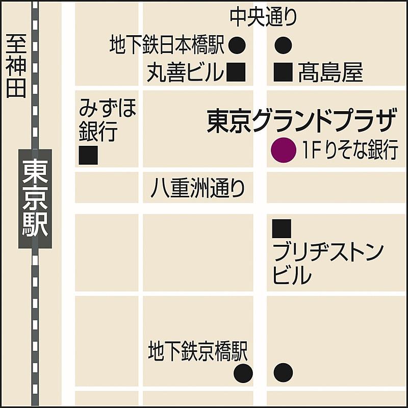 「ワタベウェディング 東京グランドプラザ」案内図