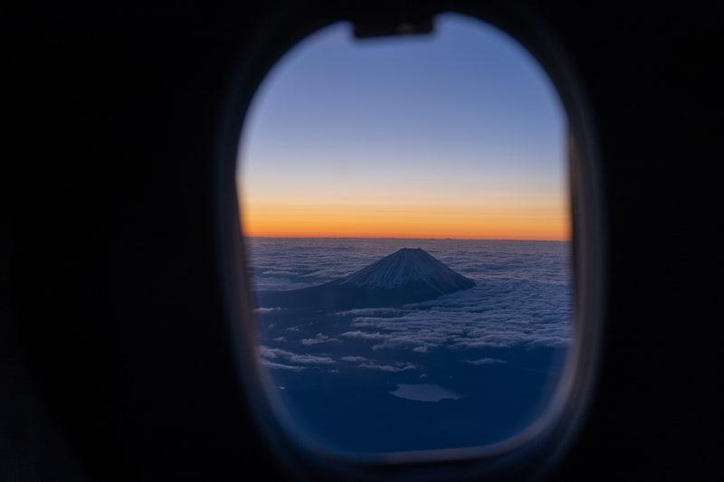 どこから見ても美しい富士山