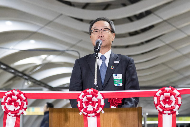 東京メトロ 代表取締役社長 山村明義氏