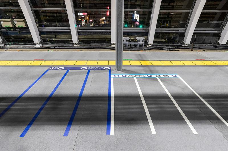 銀座線渋谷駅発祥となる整列乗車は継続